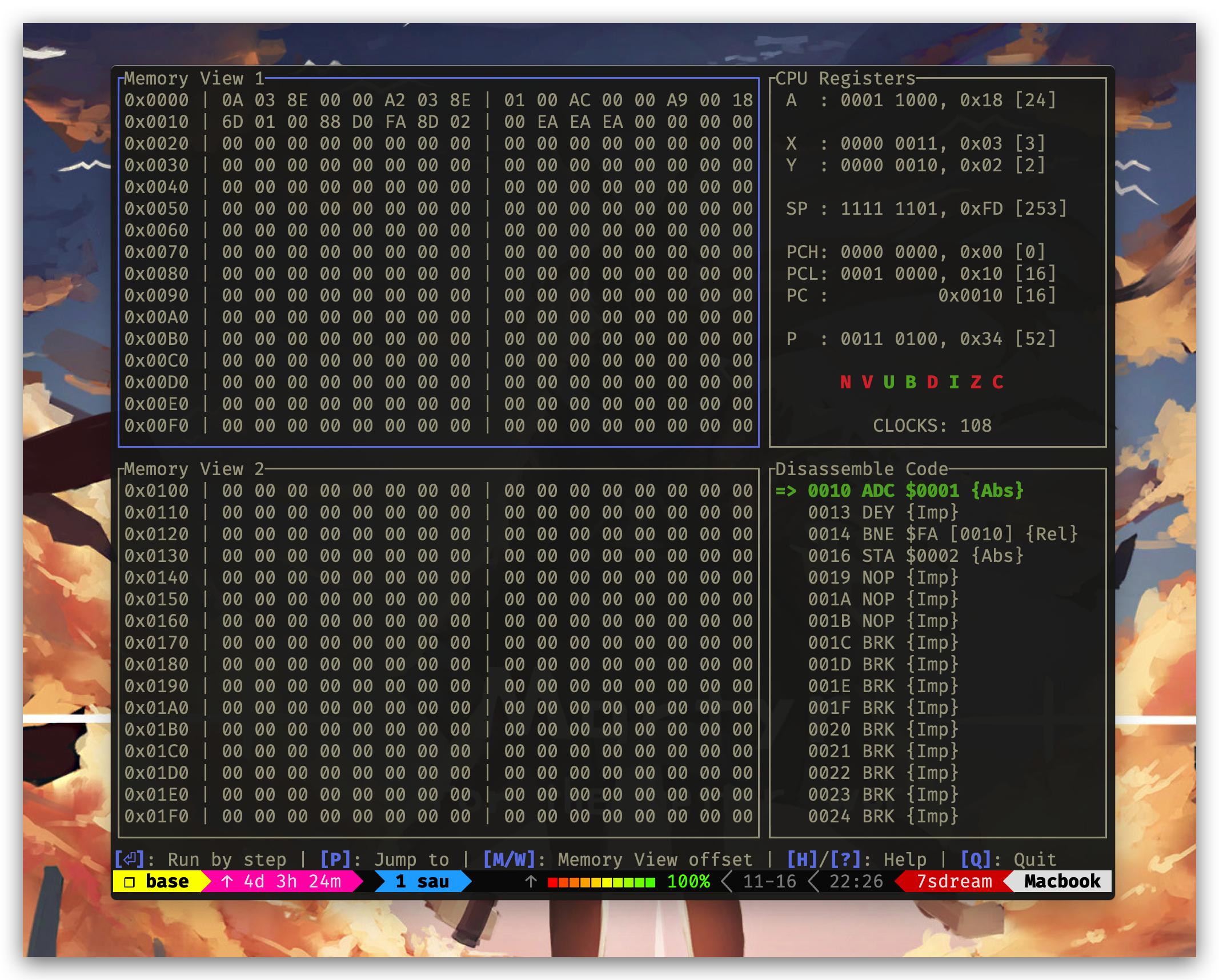 CPU inspector